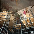 Flickr - USCapitol - Rotunda Apotheosis restoration August 1987 ^throwbackthursday.jpg