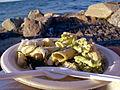 Flickr - cyclonebill - Helleflynder med pastasalat.jpg