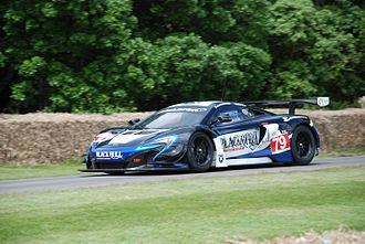 McLaren 650S - McLaren 650S GT3 at Goodwood Festival of Speed 2016