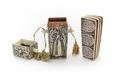 Fodral av elfenben, graverad, svärtad, delvis förgylld dekor - Skoklosters slott - 92295.tif