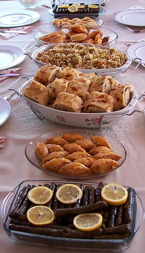 Cuisine - A sample of Turkish cuisine