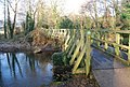 Footbridge across part of the River Exe - geograph.org.uk - 1109020.jpg