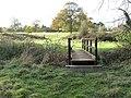 Footbridge near Roundwyck House - geograph.org.uk - 1569406.jpg