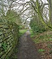 Footpath - Back Church Lane - geograph.org.uk - 766982.jpg