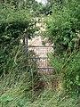 Footpath meets road - geograph.org.uk - 1985083.jpg