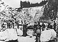 Forced labor at Wiener Graben quarry 1942.jpg