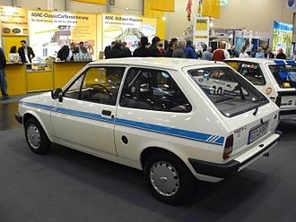 Ford Fiesta (second generation) - Image: Ford Fiesta MKII 1