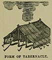 "Form of Tabernacle. — Image from page 106 of ""A Pictorial Commentary on the Gospel According to Mark"" (1881) by Edwin W. Rice.jpg"