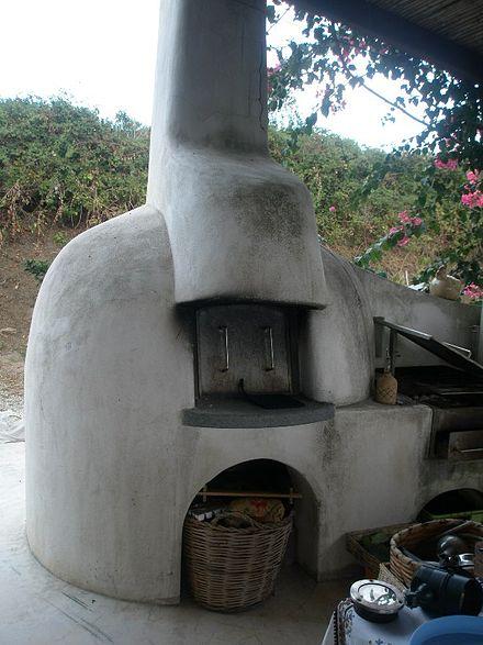 Tradizionale forno eoliano da cottura for Forno a convezione wikipedia