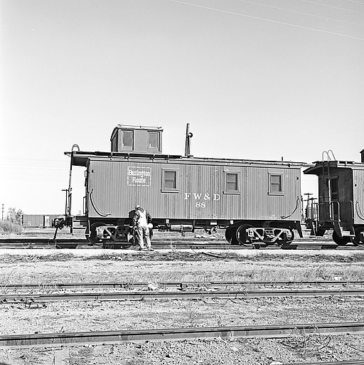 Fort Worth and Denver City, Caboose 88 (16901911886)