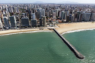 Tourism in Brazil - Fortaleza, capital of Ceará state, is one of the top destinations for business and also for a holiday on its amazing beaches.
