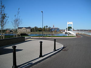 Gosport - Forton Lake Millennium Bridge 2005