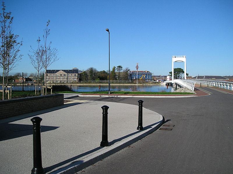 Forton Lake Millennium Bridge