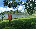 Fountain and lake - geograph.org.uk - 854781.jpg