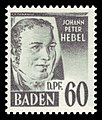 Fr. Zone Baden 1948 25 Johann Peter Hebel.jpg