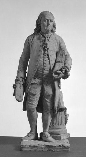 François Marie Suzanne - Benjamin Franklin by François Marie Suzanne, Walters Art Museum, 1793