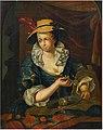 François Xaver Henri Verbeeck - Woman peeling a lemon.jpg