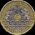 France - P - 20 - Franc - 1993 - Jeux Méditerranéens - A.png