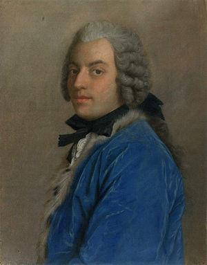 Francesco Algarotti - Portrait by Jean-Étienne Liotard (1745), Rijksmuseum
