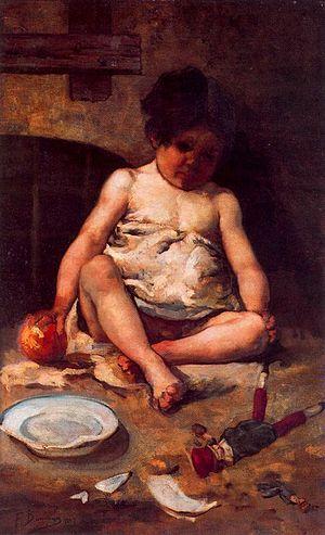 Francisco Domingo Marqués - Image: Francisco Domingo Marques Figura de un niño