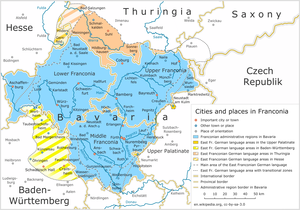East Franconian German - East Franconian German