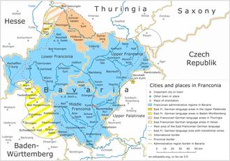 East Franconian German - East Franconian German