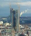 Frankfurt-Main ECB-Headquarters seen from CBT, 35th floor 2013-02-07.jpg