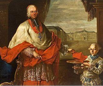 Bishop of Speyer - Franz Christoph von Hutten zum Stolzenberg, prince-bishop of Speyer