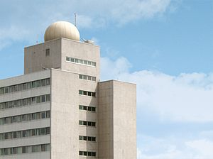 Fraunhofer Institute for Telecommunications - Main building of Fraunhofer HHI in Berlin, Germany