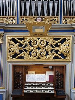Freisinger Dom - Orgelempore - 4.JPG