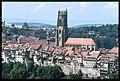 Friburgo. Veduta della città con la cattedrale di San Nicola.jpg