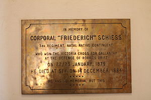 Ferdinand Schiess - Memorial to Friederich Schiess