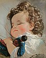 Friedrich von Amerling - Prinzessin Marie Franziska von Liechtenstein im Alter von zwei Jahren (1836).jpg