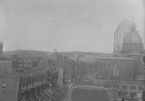 Mary, Queen of the World Cathedral - St James Cathedral in 1935