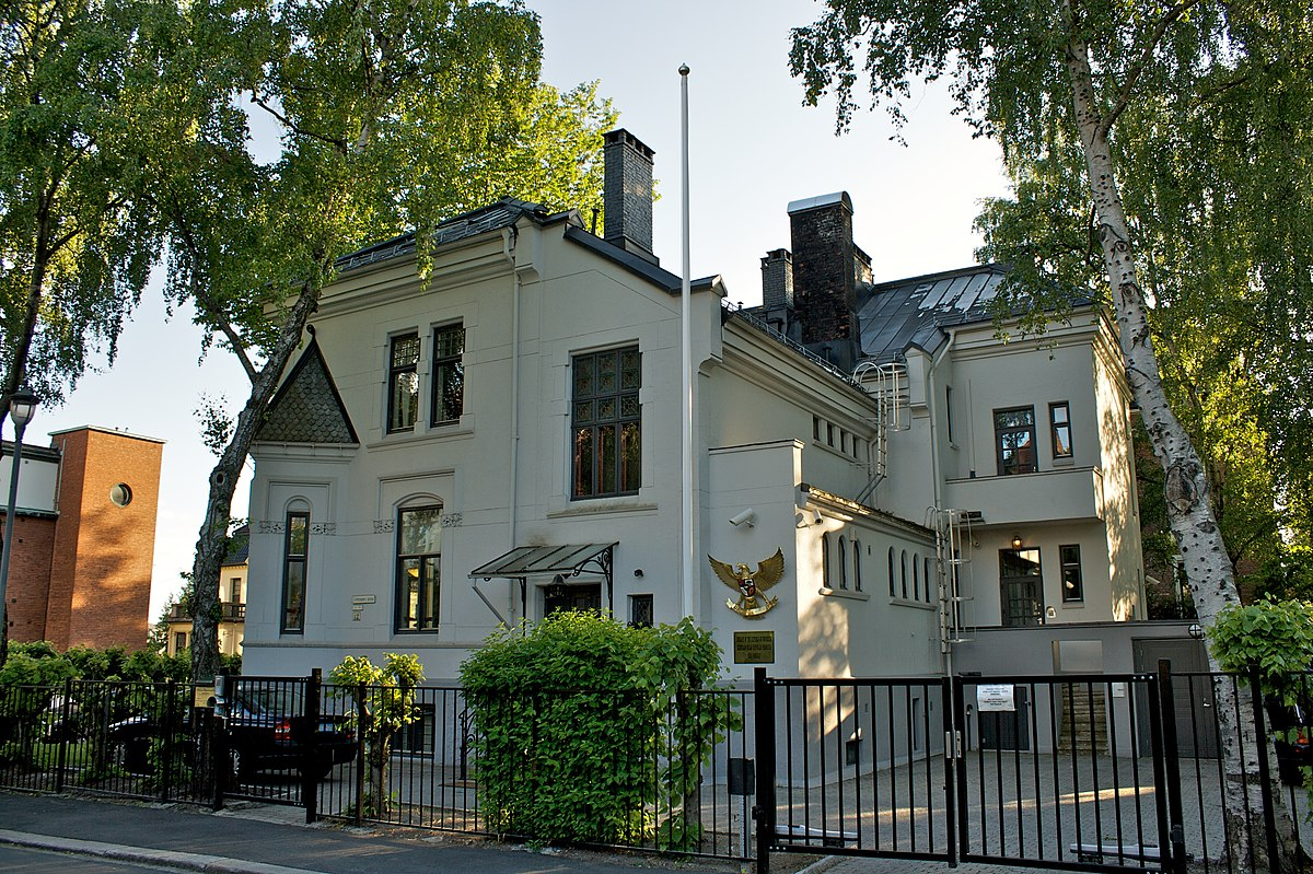 Indonesias ambassade i Oslo – Wikipedia