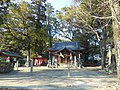 Front of Shirahige Shrine in Kuboizumi Saga.JPG