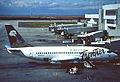 Frontier Airlines Boeing 737-201; N217US@DEN, October 1996 (5689922718).jpg