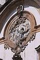 Frontispício da Igreja de São Francisco de Assis - Imagem do Santo em alto relevo.jpg