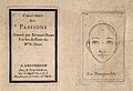 Frontispiece to Le Brun's 'Passions' (left) and a face expre Wellcome V0009375.jpg