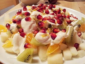 Fruit salad - Image: Fruktsallad (Fruit salad)