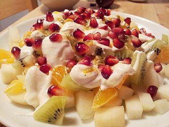 Fruit salad - Image: Fruktsallad (Fruit salad)