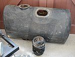 Fuel tank from B-17G Flying Fortress -44-6504 PU-M- (25896649308).jpg