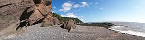St. Martins, New Brunswick - Image: Fundytrail