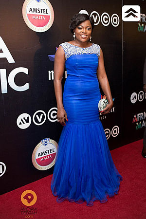 Africa Movie Academy Award for Best Actress in a Leading Role - 2009 AMAA Best Actress winner Funke Akindele