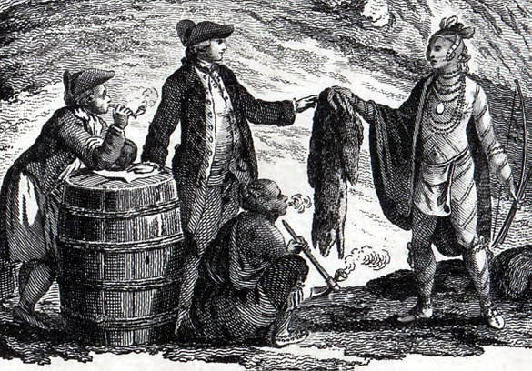Fur traders in canada 1777