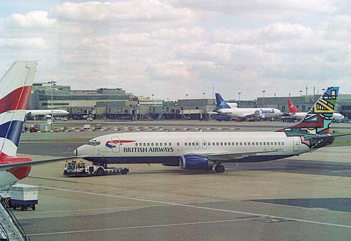 """G-DOCL Boeing 737-436 (cn 25842 2228) British Airways """"Martha Ndebele"""". (6567464645)"""