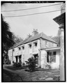 GENERAL VIEW, SOUTHWEST CORNER - Daniel Ravenel House, Dependency, 68 Broad Street, Charleston, Charleston County, SC HABS SC,10-CHAR,136A-2.tif