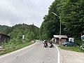 GER — BY — Lkr. Bad Tölz-Wolfratshausen —Jachenau (Kassenhäuschen für Mautstraßennutzung).JPG