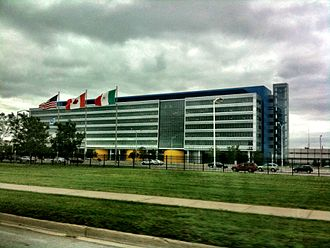 Warren, Michigan - The General Motors Technical Center