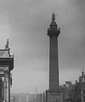 Spire of Dublin - Nelson's Pillar stood on the site of the Spire until it was destroyed by a bomb in 1966.